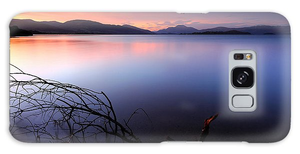 Loch Lomond Sunset Galaxy Case
