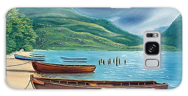 Loch Maree Scotland Galaxy Case