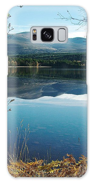 Loch Morlich - Autumn Galaxy Case by Phil Banks