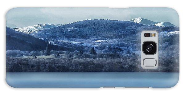 Loch Ness Winter Blues Galaxy Case by Jacqi Elmslie