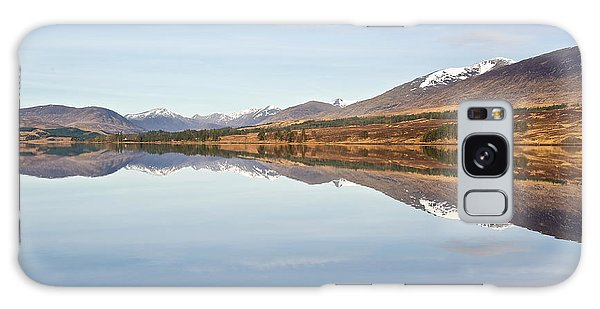Loch Tulla In Spring Galaxy Case