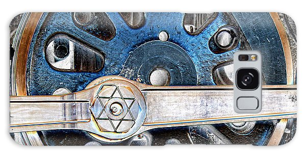 Loco Wheel Galaxy Case by Sylvia Thornton