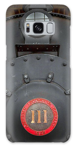Locomotive 111 Galaxy Case by Marion Johnson
