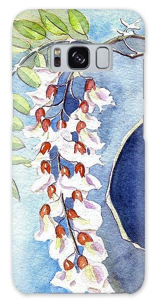 Locust Bloom Galaxy Case by Katherine Miller