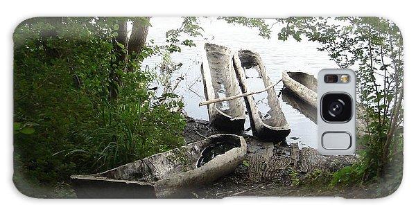 Log Canoes Galaxy Case