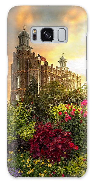 Logan Temple Garden Galaxy Case