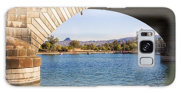 London Bridge At Lake Havasu City Galaxy Case
