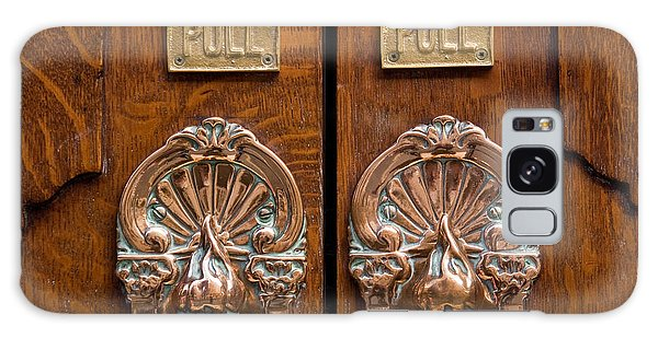 London Coliseum Doors 02 Galaxy Case by Rick Piper Photography