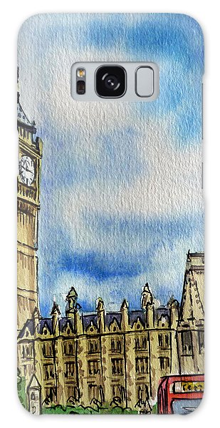 Clock Galaxy Case - London England Big Ben by Irina Sztukowski