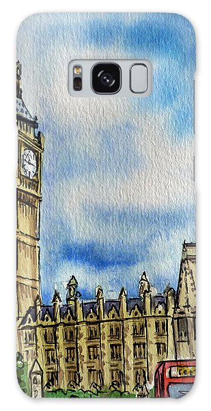 London England Big Ben Galaxy Case