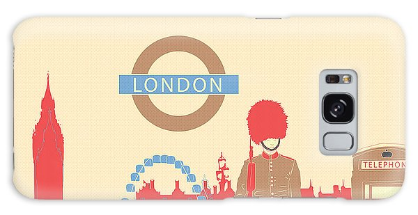 London England Galaxy Case by Famenxt DB