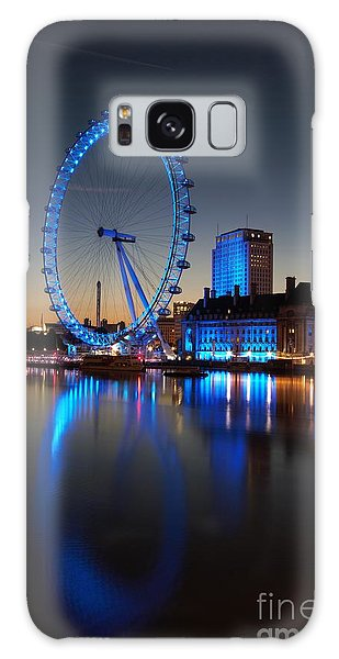 London Eye 2 Galaxy Case by Mariusz Czajkowski