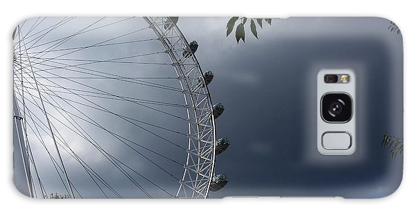 London Eye Clouds Galaxy Case by Nicky Jameson