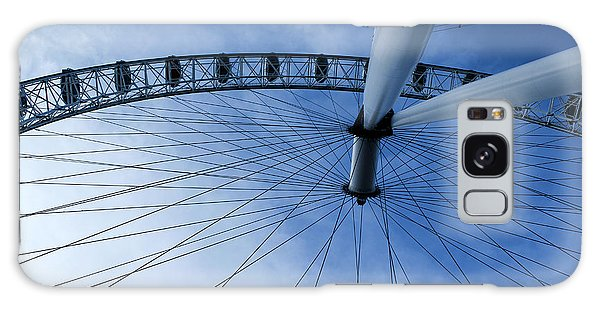 London Eye Galaxy Case by Melissa Petrey