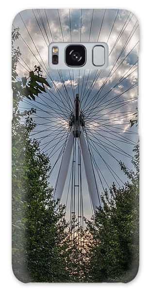 London Eye Vertical Panorama Galaxy Case