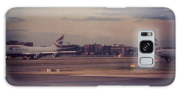London Galaxy Case - #london #heathrow #britishairways by Abdelrahman Alawwad