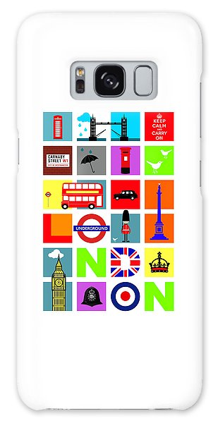 London Galaxy Case by Mark Rogan