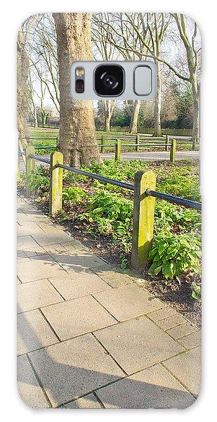 Board Walk Galaxy Case - London Park by Tom Gowanlock