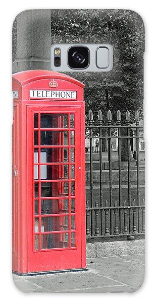 London Phone Box Galaxy Case