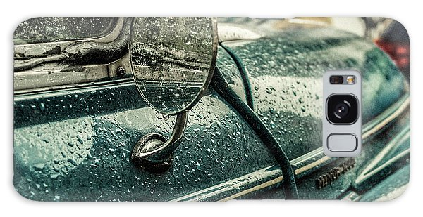 Vintage Cars Galaxy Case - London Rain by Riccardo Berg