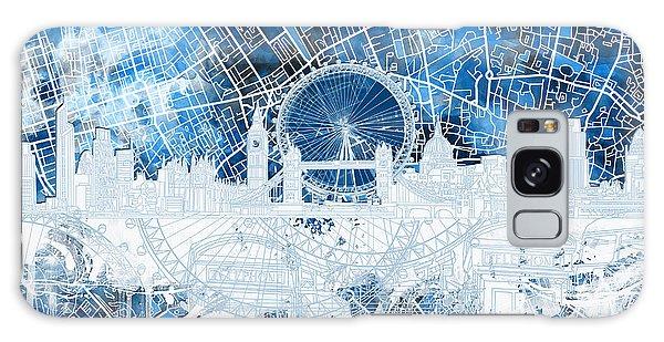 London Skyline Abstract 13 Galaxy Case