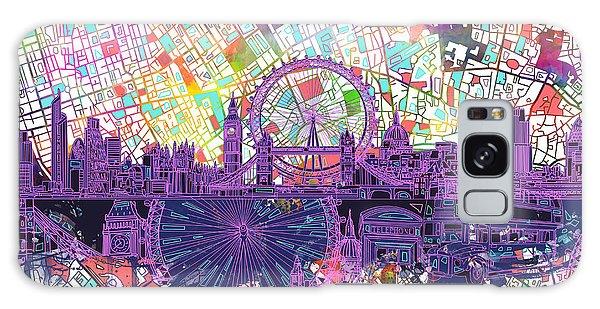 London Skyline Abstract Galaxy Case
