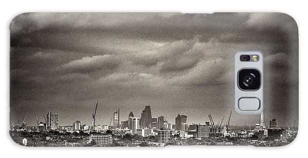 London Skyline From Hampstead Heath Galaxy Case