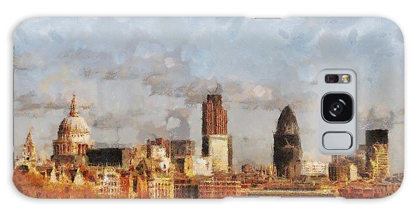 Houses Of Parliament Galaxy Case - London Skyline From The River  by Pixel Chimp