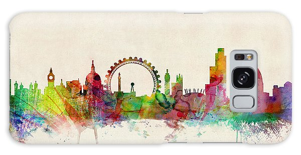 England Galaxy Case - London Skyline Panoramic by Michael Tompsett