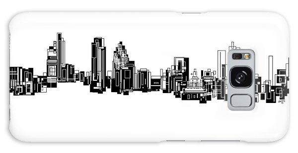 London Skyline Galaxy Case by Sheep McTavish