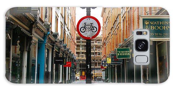 London Street Galaxy Case by David Warrington