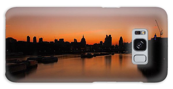 London Sunrise 2 Galaxy Case by Mariusz Czajkowski