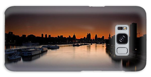 London Sunrise Galaxy Case by Mariusz Czajkowski