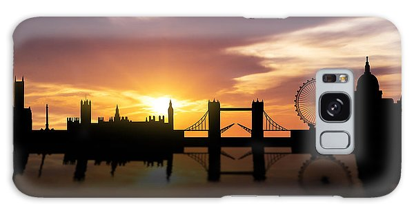 London Sunset Skyline  Galaxy Case