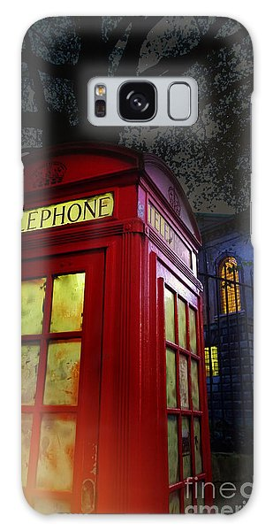 London Tardis Galaxy Case