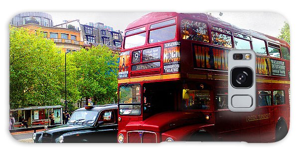 London Taxi And Bus Galaxy Case