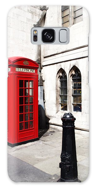 London Telephone Box Galaxy Case