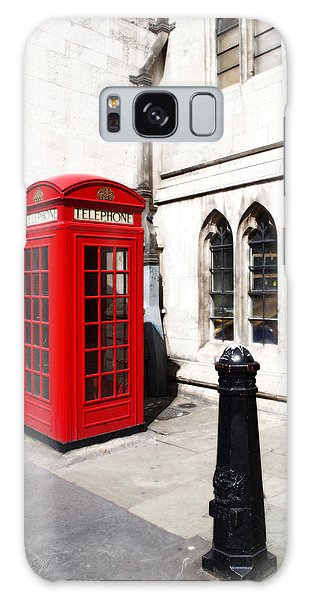 London Telephone Box Galaxy Case