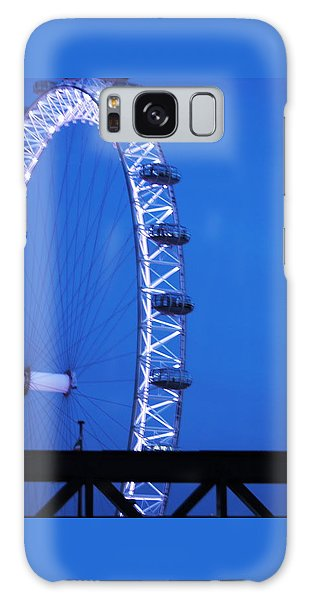 London's Eye At Dusk Galaxy Case