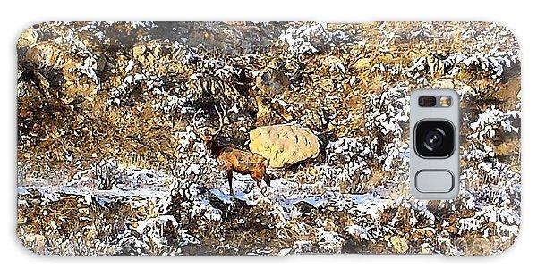 Lone Bull Elk Galaxy Case