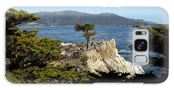 Lone Cypress On 17-mile Drive  Galaxy Case by Carol M Highsmith