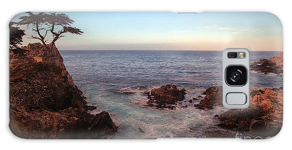 Monterey Galaxy Case - Lone Cyprus Pebble Beach by Mike Reid