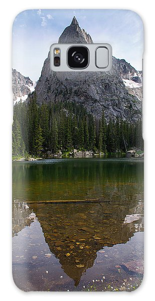 Indian Peaks Wilderness Galaxy Case - Lone Eagle Peak - Vertical by Aaron Spong