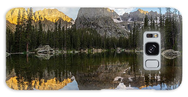 Indian Peaks Wilderness Galaxy Case - Lone Eagle Peak And Mirror Lake by Aaron Spong