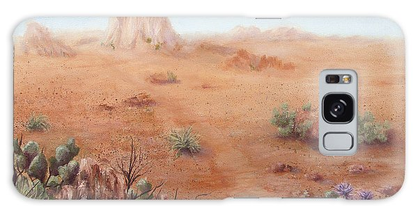 Lone Mesa Galaxy Case by Roseann Gilmore