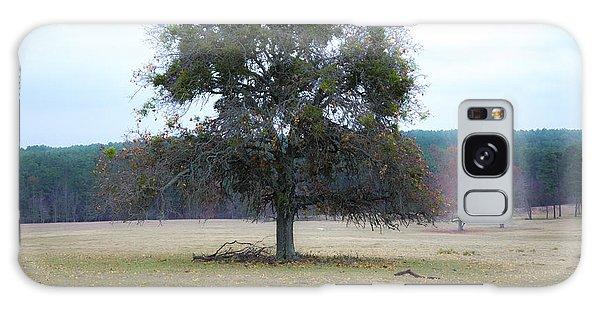 Lone Oak In Pasture Galaxy Case