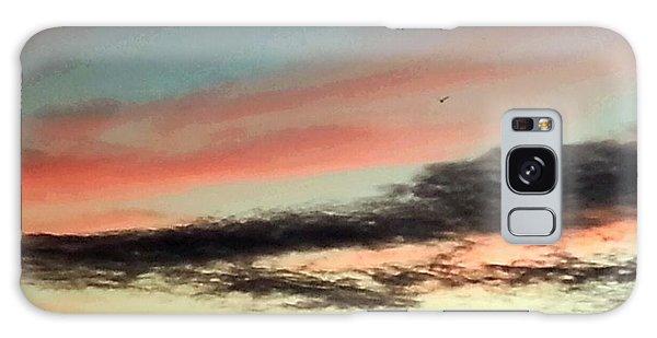 Lone Seagull Galaxy Case
