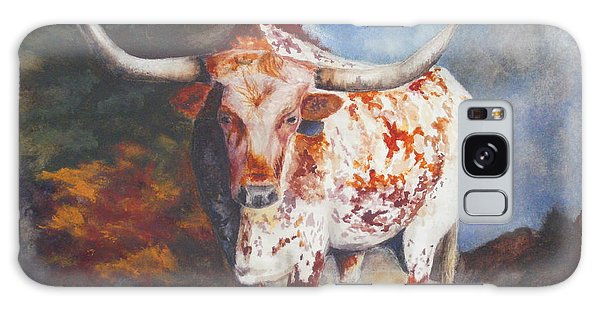 Lone Star Longhorn Galaxy Case