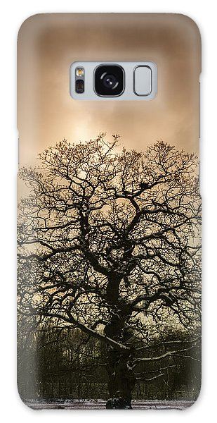 Tree Galaxy Case - Lone Tree by Amanda Elwell