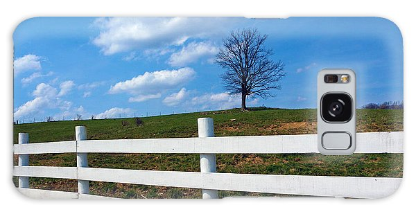 Lone Tree Galaxy Case by Lorna Rogers Photography
